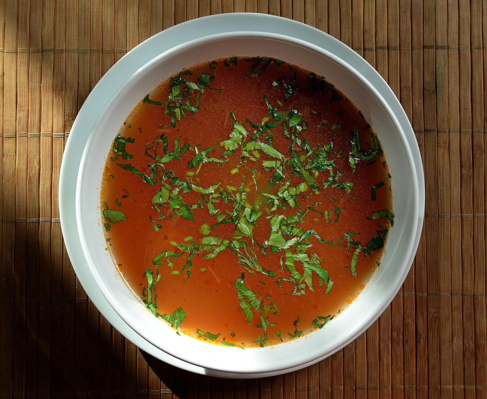 Bouillon Suppe